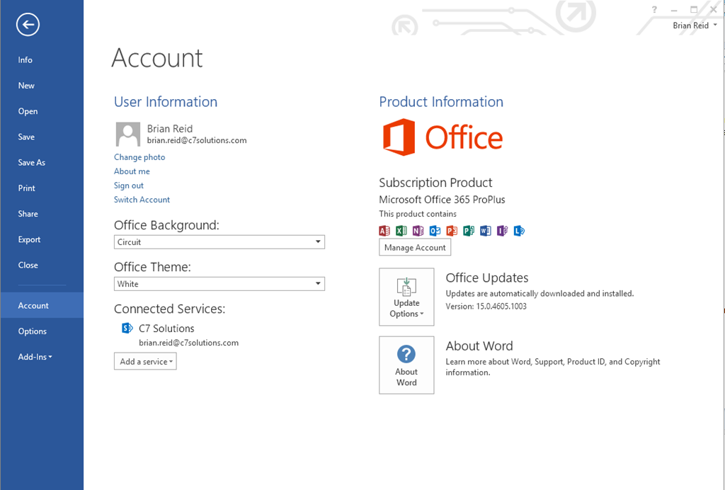Using microsoft rights management from microsoft office c7 solutions - Can i check my post office account online ...