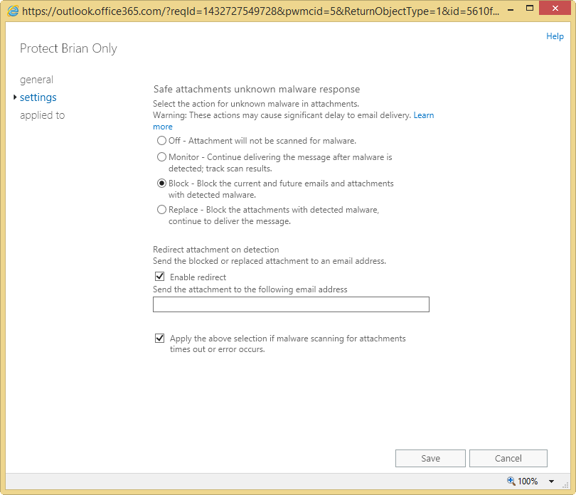 Getting Started with Office 365 Advanced Threat Protection