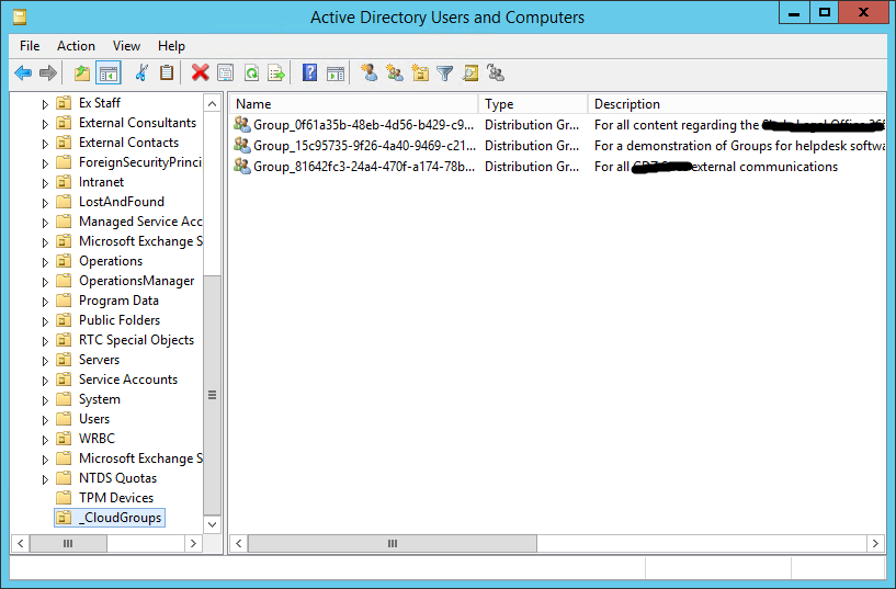 Configuring Sync and Writeback Permissions in Active