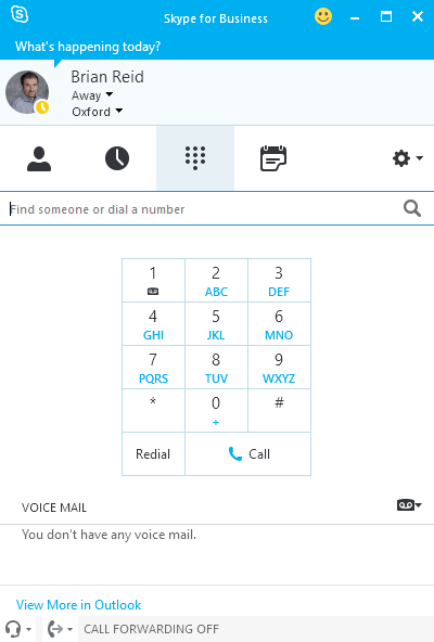 image 16 - How To Get Dial Pad In Skype For Business