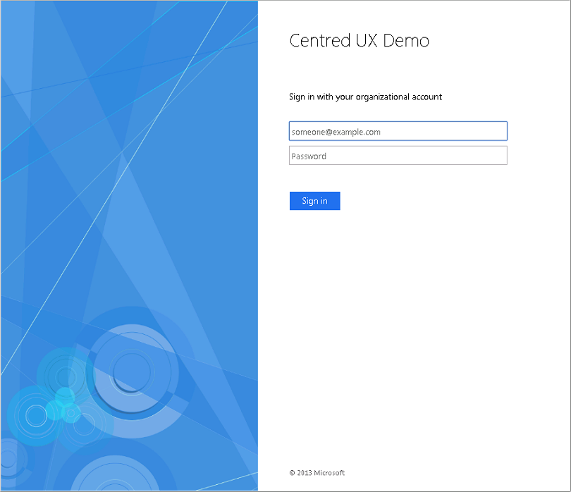 Customizing ADFS To Match Azure AD Centered User Experience – C7