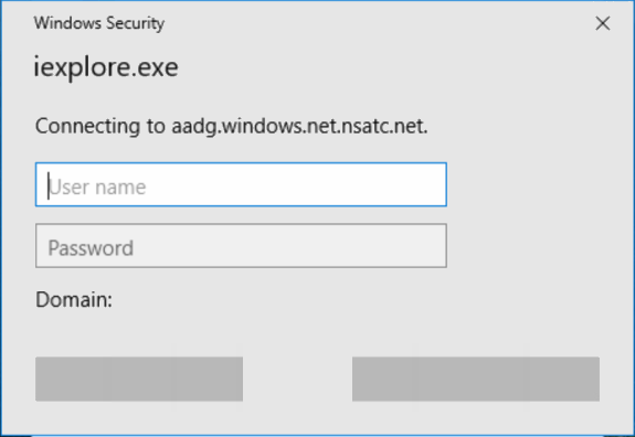 Azure AD Single Sign-On Basic Auth Popup – C7 Solutions