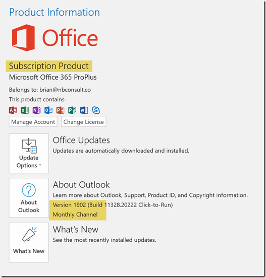 Office 365 – C7 Solutions