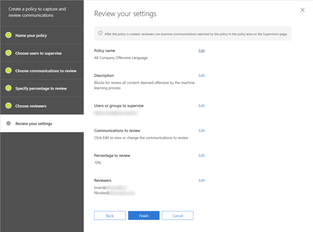 Review and Audit Offensive Language in Office 365